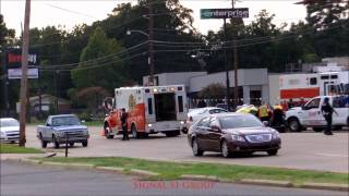 MVA w/Entrapment - Bert Kouns and Southwood (DISPATCH AUDIO)