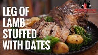Leg Of Lamb Stuffed with Dates
