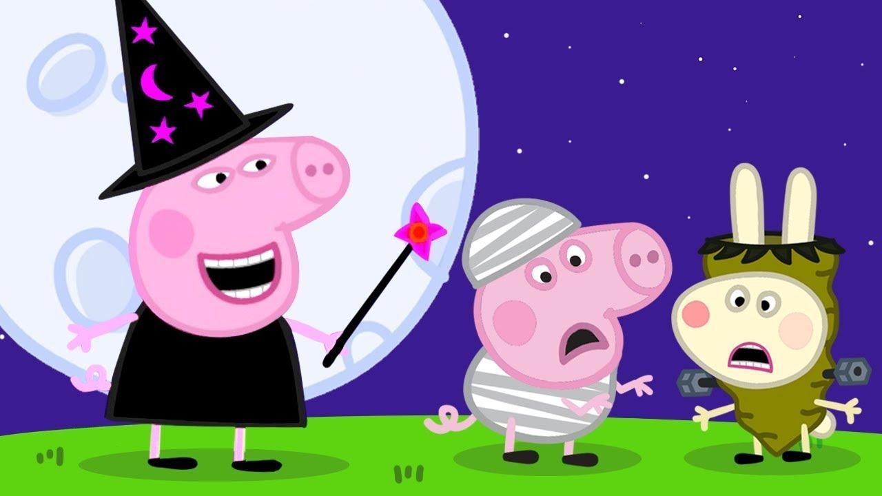 Peppa Pig in Hindi - Fancy Dress Party - हिंदी Kahaniya - Hindi Cartoons for Kids