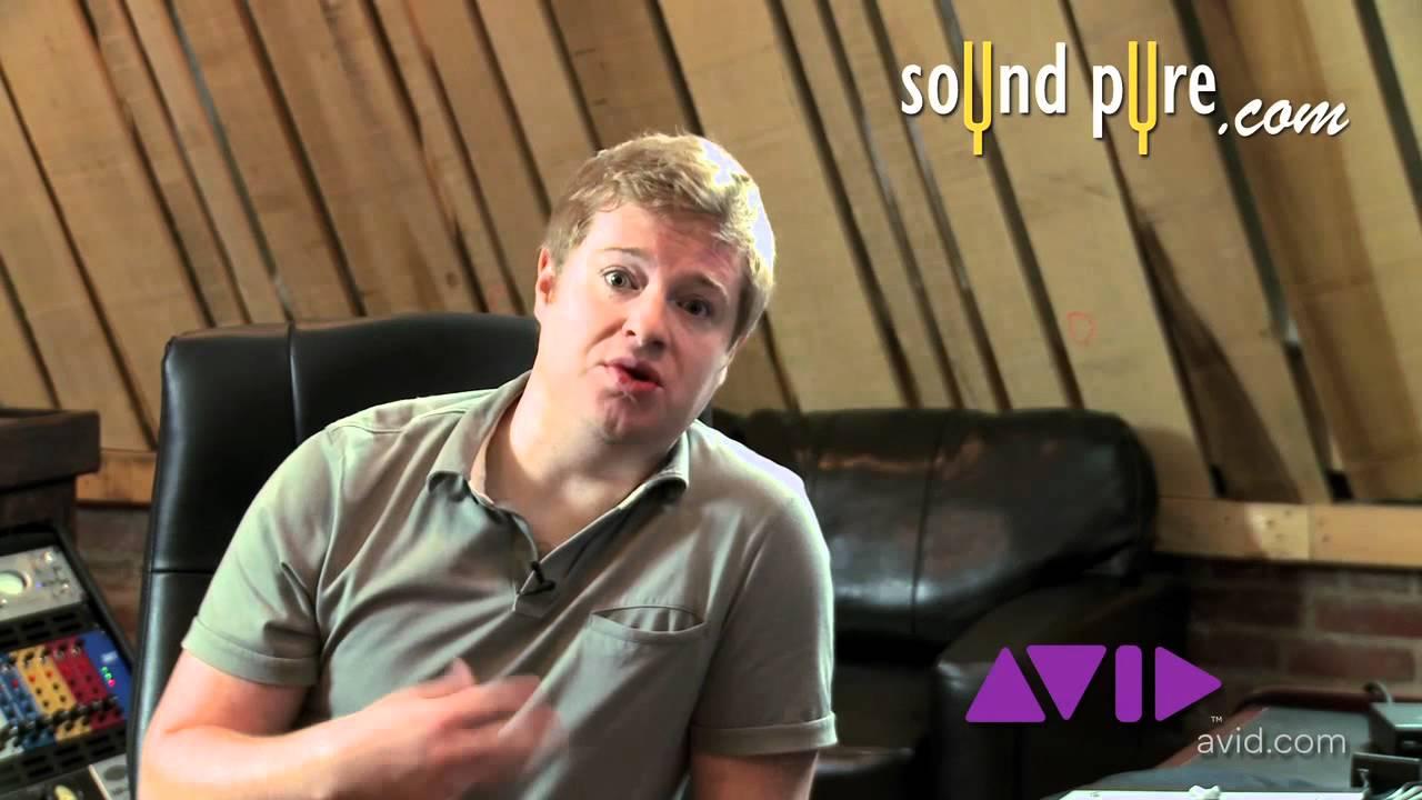 EUCON Support For Avid ProTools 9 - Euphonix Artist Series Demo
