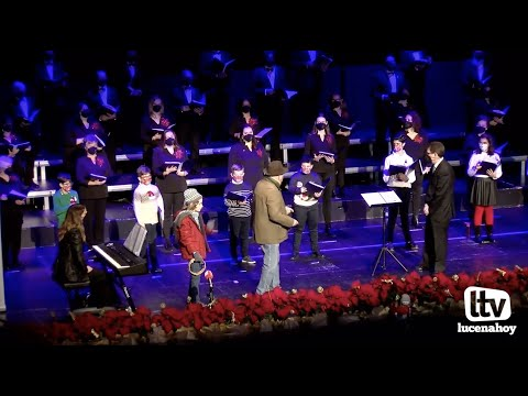 VÍDEO: La Coral Lucentina ofrece su tradicional Concierto de Navidad en el Auditorio Municipal