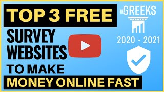Top 3 free survey websites to make extra money online fast 2020! (part 2) ✅ our #1 way for a full-time income with account 👉 https://bit.ly/174pe...