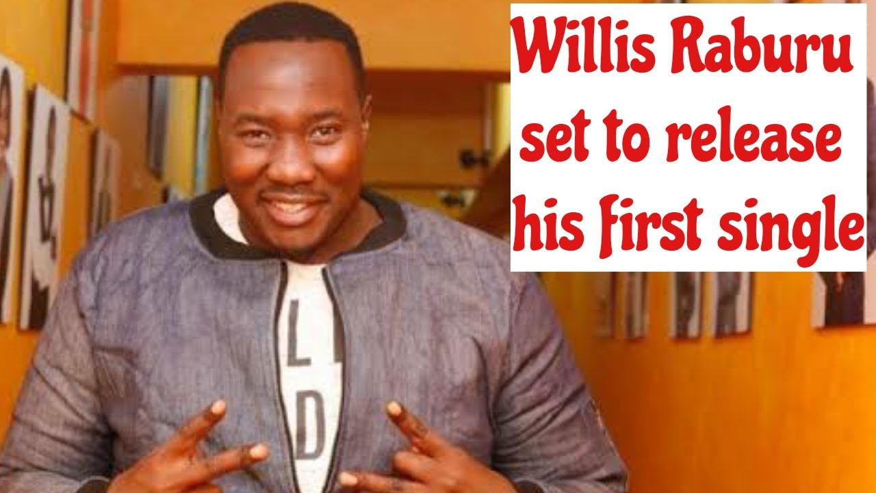 Willis Raburu Set To release his first single He joins music under the brand name BAZU #Willisraburu