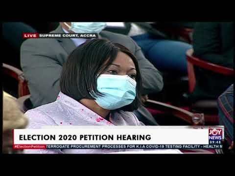 Election2020 Petition Hearing: Case adjourned to February 18 – on Joy News (11-2-21)