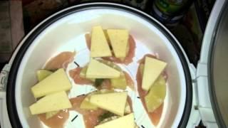 Вариант 3 приготовления куриного филе на пару. Как приготовить филе с ананасами и сыром на пару