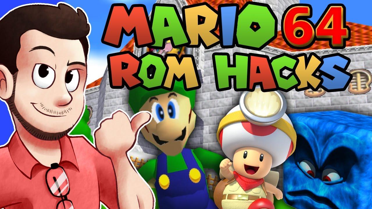 how to play mario rom hacks