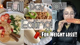 What I Eat For Weight Loss (4th of July)