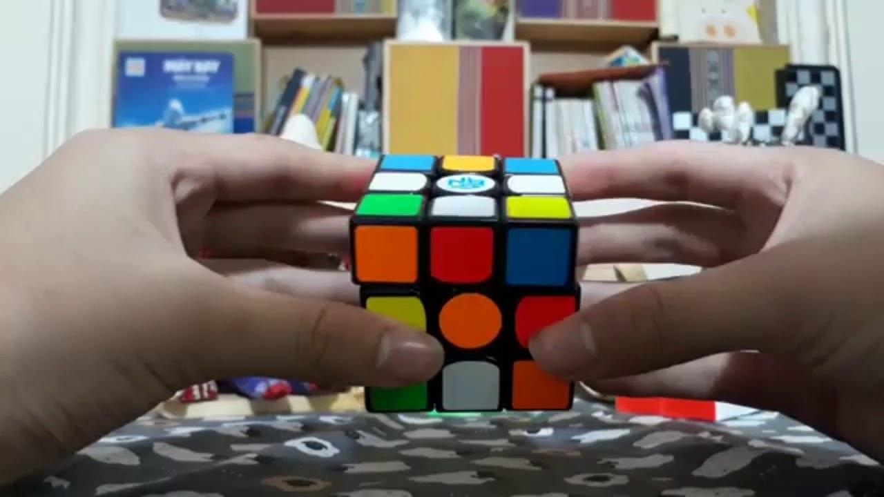Hướng dẫn giải rubik 3×3 tầng 1 dễ hiểu