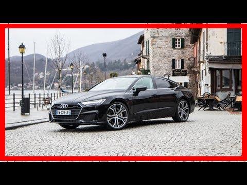 Essai vidéo - Audi A7: high-tech et haute couture