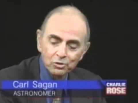 Carl Sagan's last interview with Charlie Rose (Full Interview)