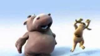 hippo in the jungle