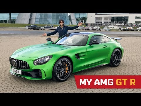 My AMG GT R is here!!!
