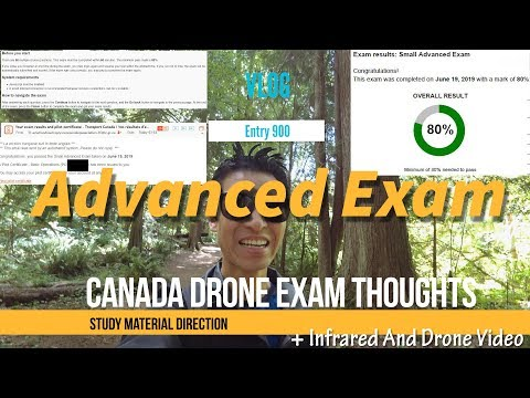 Canada Advanced Drone Exam With Ground School And Study Guide Thoughts