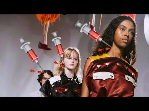 RAF SIMONS LOVES HORROR MOVIES?! (Calvin Klein SS18 Fashion Show Review)