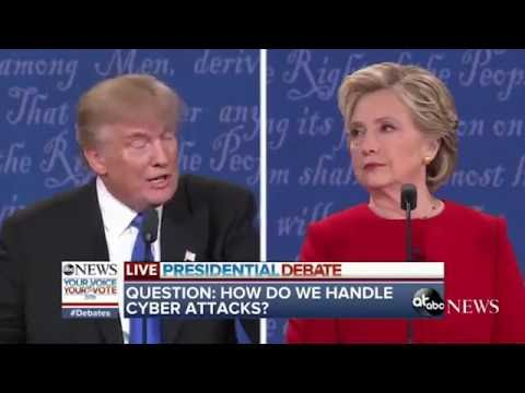 1st Presidential Debate 2016 Donald Trump VS Hillary Clinton Funniest/Best Moments!