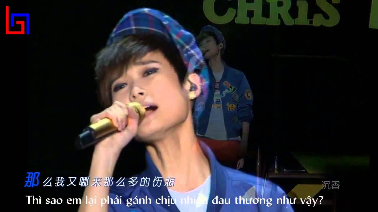[Vietsub] Yêu anh như vậy đúng hay sai - Lý Vũ Xuân / 我這樣愛你到底對不對 - 李宇春 (Why Me 2012) - YouTube