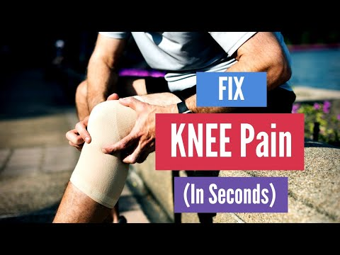 How to Fix Knee Pain in Seconds (This Works)