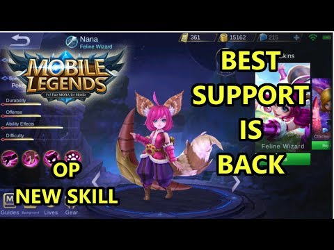 NANA REWORK GAMEPLAY (Fanny Gagal Maniac) - Mobile Legends
