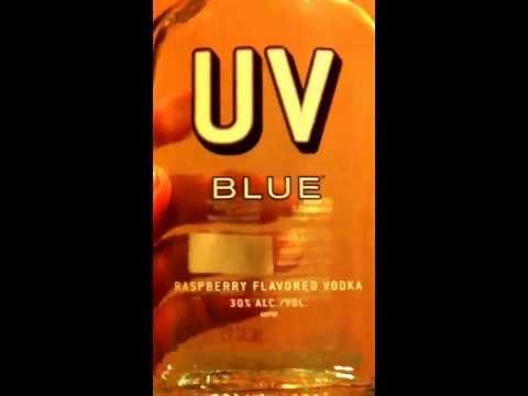 UV blue vodka alcohol get drunk
