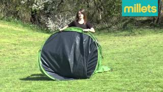 How to pack a Eurohike Pop 400 Tent