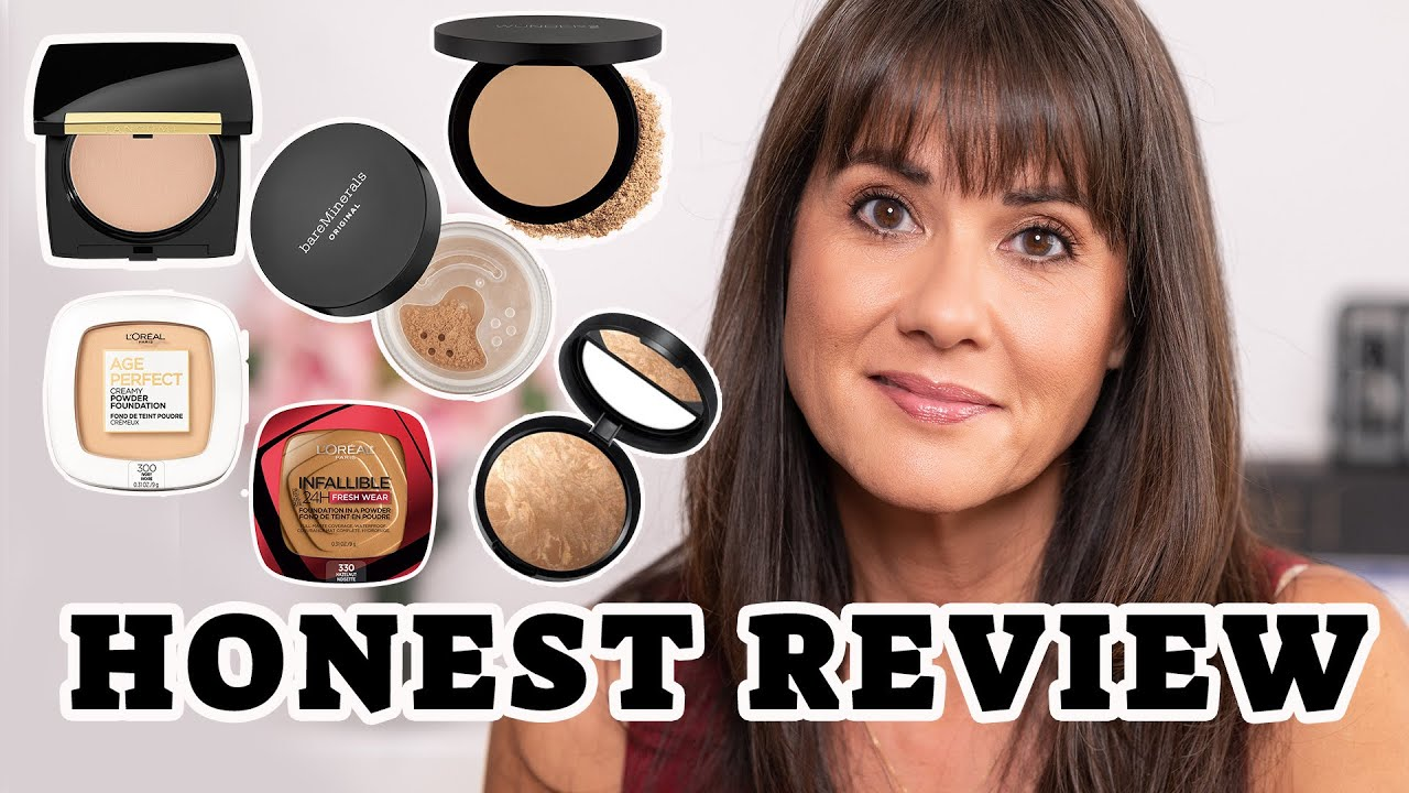 Best Powder Foundations for Women Over 50