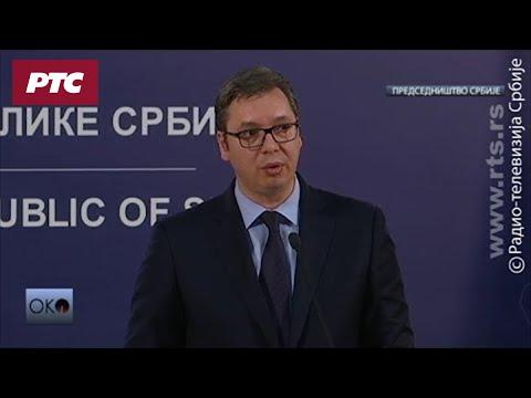 Obraćanje predsednika Srbije Aleksandra Vučića povodom dešavanja na Kosovu