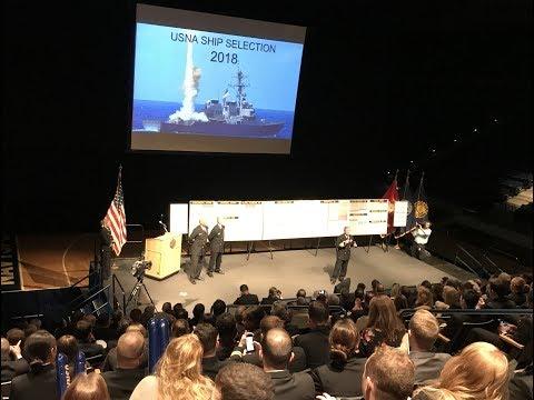 U.S. Naval Academy Ship Selection 2018