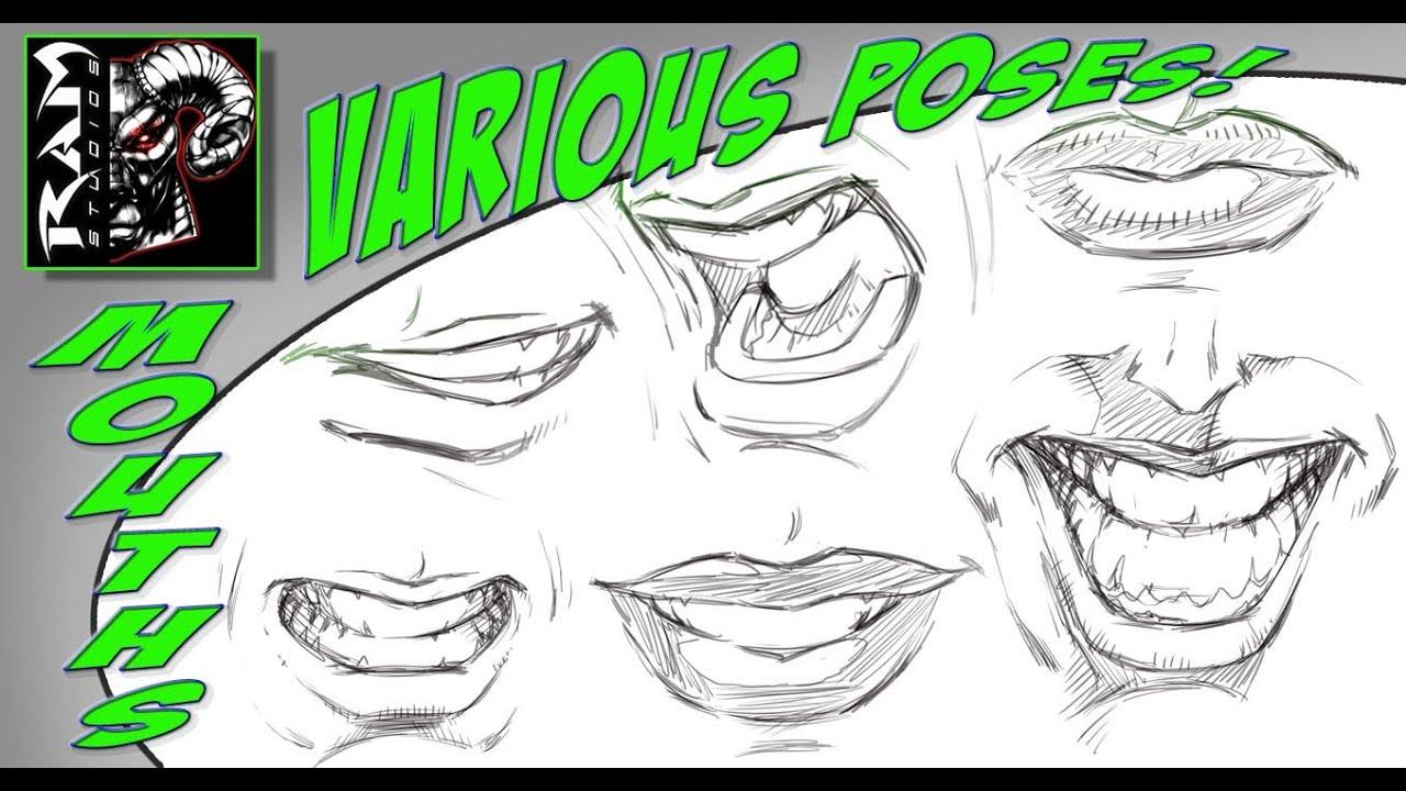 How To Draw Comic Book Women Tutorial