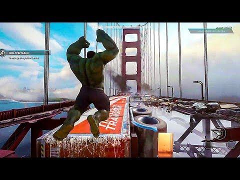 AVENGERS Gameplay Demo Walkthrough (2020) Iron Man, Hulk, Thor, Captain America