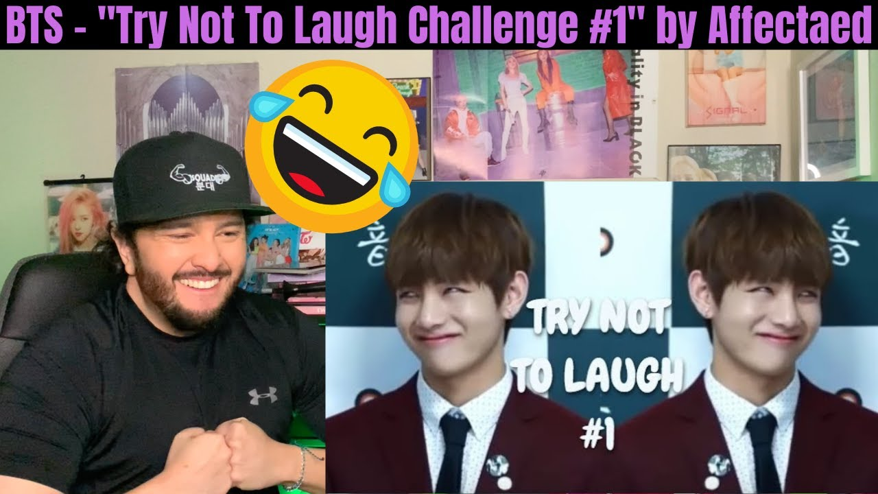 Bts Try Not To Laugh Challenge 1 By Affectaed Youtube