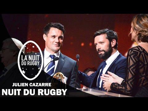 """Nuit du Rugby - Julien Cazarre """"félicite"""" Dan Carter pour son intégration au Racing 92"""