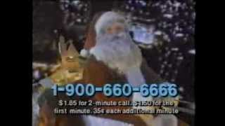 Call Santa! 900 Number Commercial (1987)