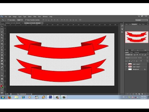 Teknik Dasar Membuat Logo di Photoshop cs4.