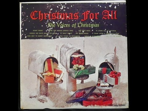 """Christmas For All"" full budget label album. Crown Records"