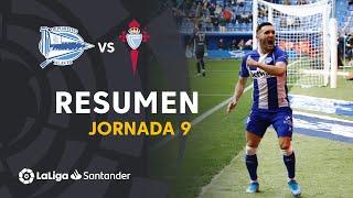 Resumen de Deportivo Alavés vs RC Celta (2-0)