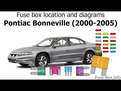 [WLLP_2054]   Fuse box location and diagrams: Pontiac Bonneville (2000-2005) - YouTube | 1999 Pontiac Bonneville Fuse Box |  | YouTube