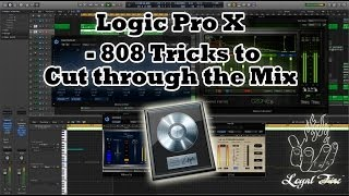 Producer Tips - Mixing 808 Kick Drum Tricks for Hip Hop & Trap - Logic Pro X