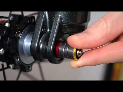 SR SUNTOUR 15mm QLC Thru Axle Q-Loc Quick 100mm dropout Release Skewer Forks