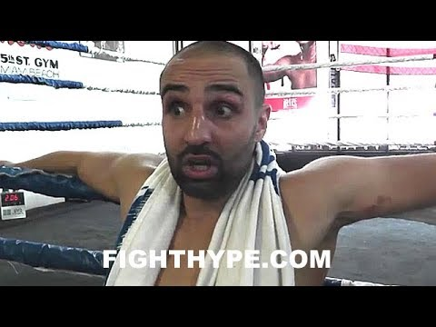 """MALIGNAGGI STRIKES BACK AT """"DIRTY"""" MCGREGOR; WARNS MAYWEATHER ABOUT ILLEGAL FOULS & EXPOSES PUSHDOWN"""