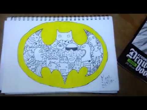 Batman Logo Doodle Youtube