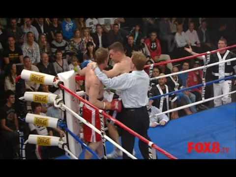 The Contender AU Full fight Oganov vs Wood r.1