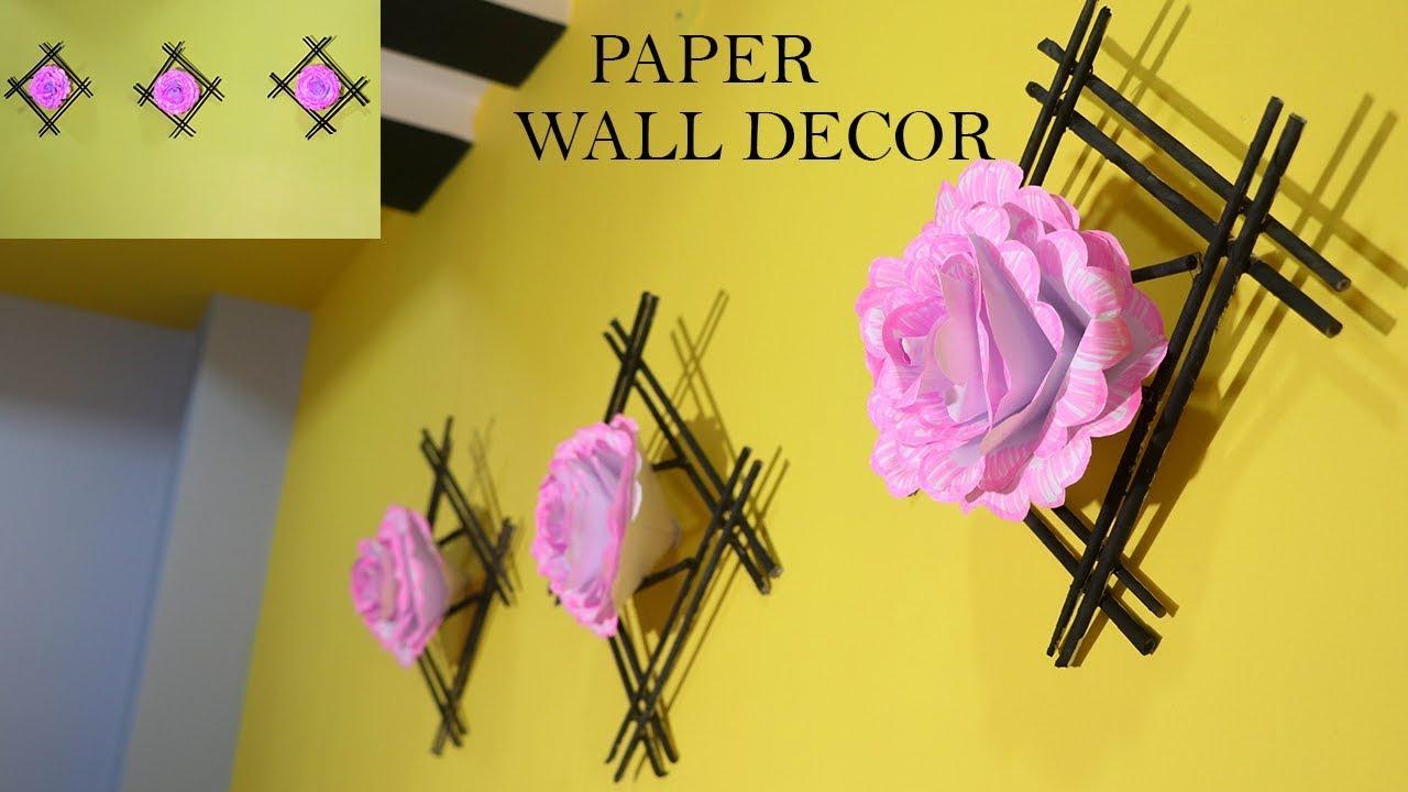DIY PAPER ROOM DECOR | SUPER EASY ROOMDECOR IDEAS | - YouTube
