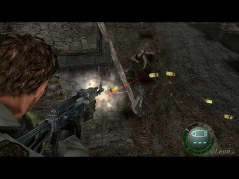 Resident Evil 4 Mods Chris E Ak 47 Youtube