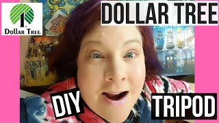 DOLLAR TREE DIY TRIPOD FOR OVER HEAD SHOTS only $3 | Joanne DelBalso
