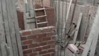 pared de la fachada