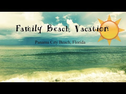 FAMILY BEACH VACATION | KIDS FIRST TIME TO GULF | JULY 2017
