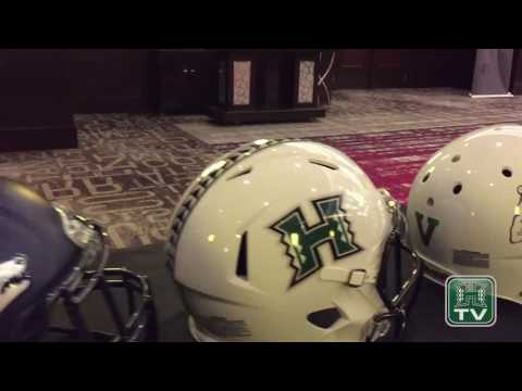 Hawaii Football At 2017 Mountain West Media Summit