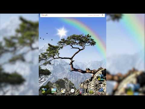 True Realistic weather nature live wallpaper 3D HD