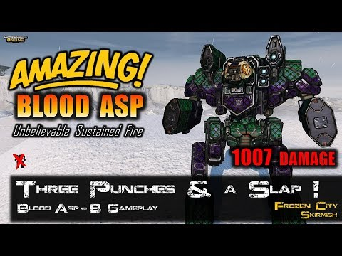 [BRxV] Three Punches and a Slap! - Blood Asp-B Gameplay