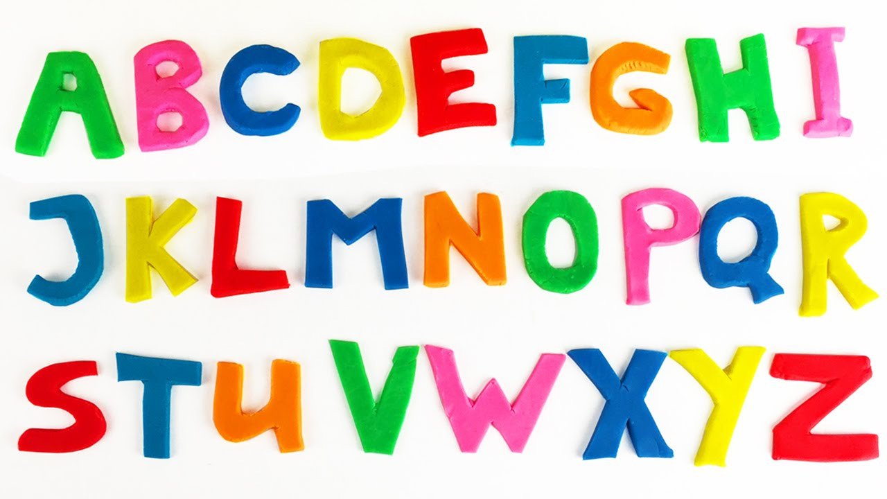 Learn The Abc Alphabet A To Z With Play Doh Letters Minnie
